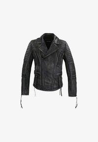 Trueprodigy - BRYAN - Leather jacket - black - 4