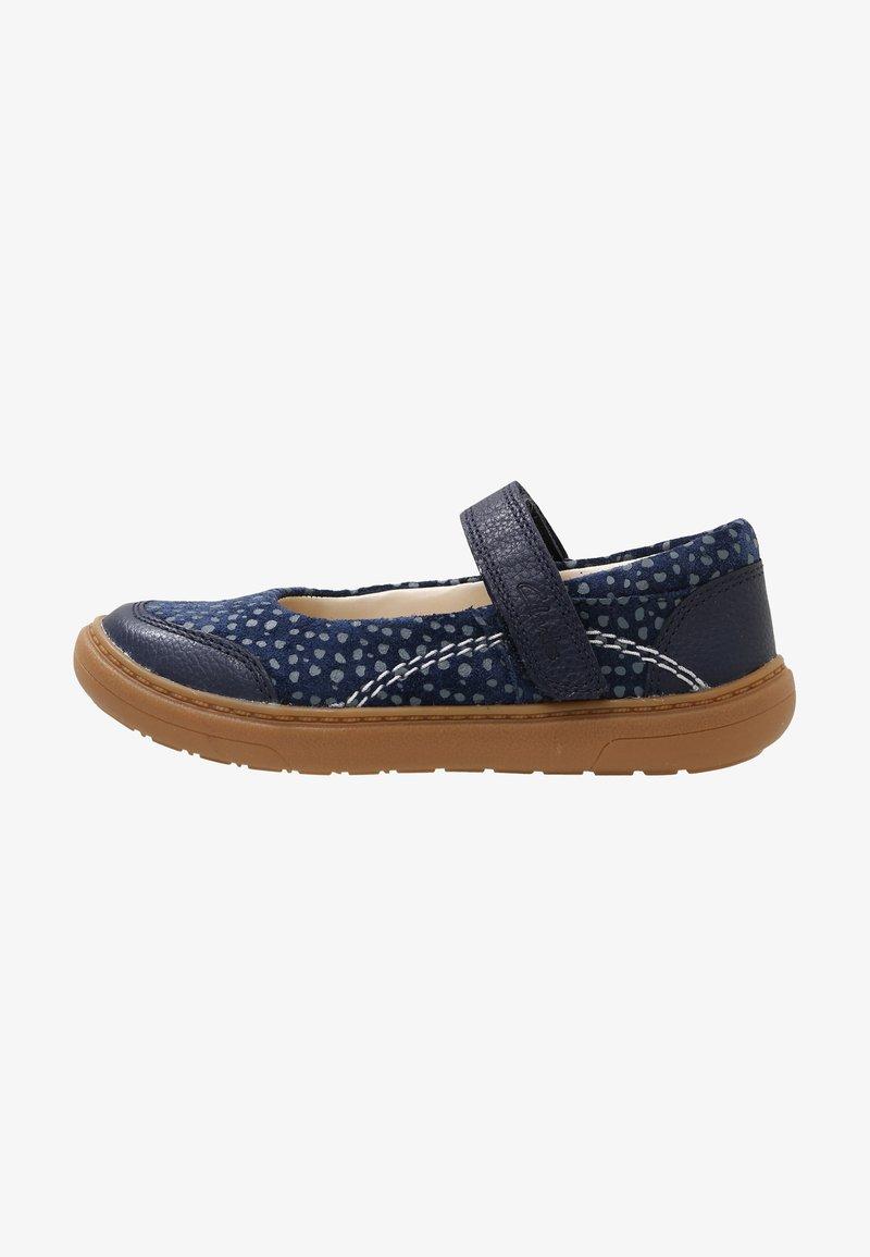 Clarks - FLASH STRIDE - Touch-strap shoes - dark blue