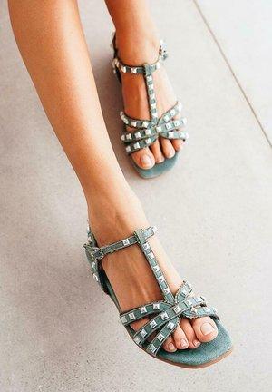 MUMBO - Wedge sandals - green