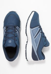 Salomon - SENSE CSWP - Trail running shoes - sargasso sea/navy blazer/flint - 0