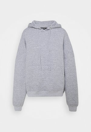 QUILTED - Sweatshirt - grey