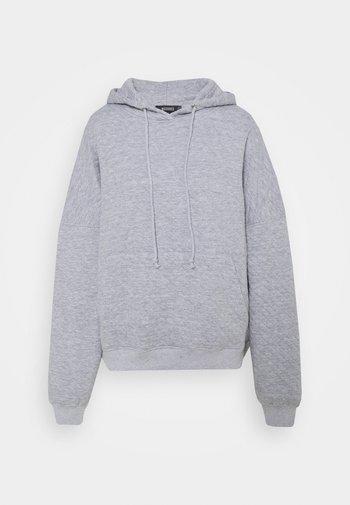 QUILTED - Sweatshirt - grey