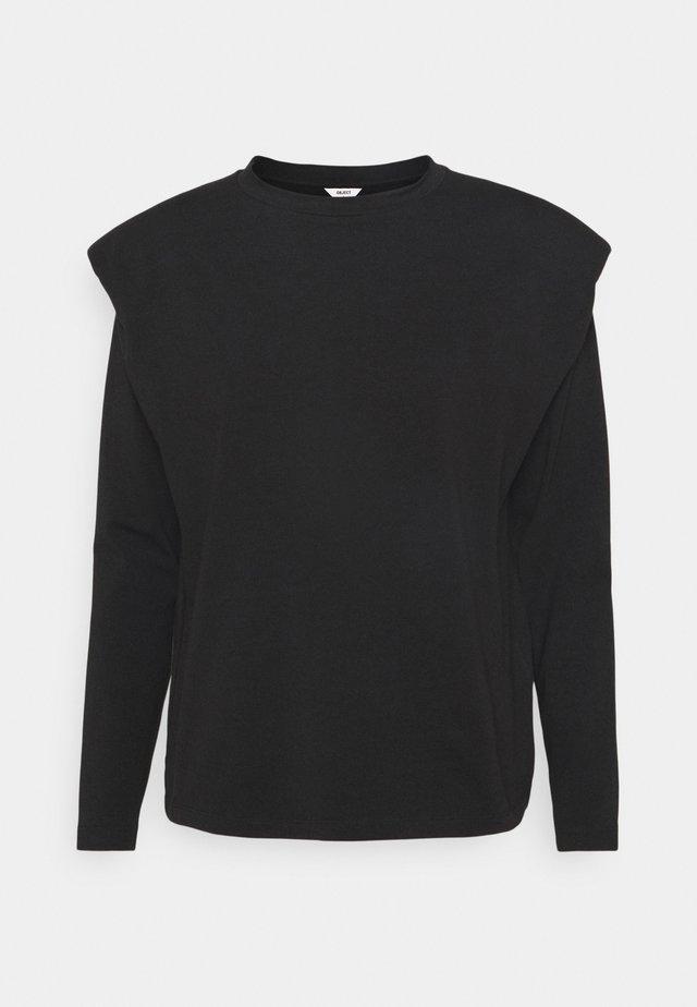 OBJJEANETTE - Maglietta a manica lunga - black