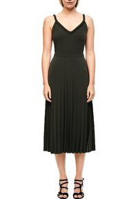 s.Oliver BLACK LABEL - Maxi dress - dark khaki green - 5