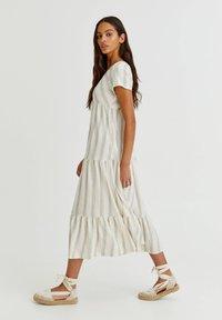 PULL&BEAR - Maxi dress - white - 1