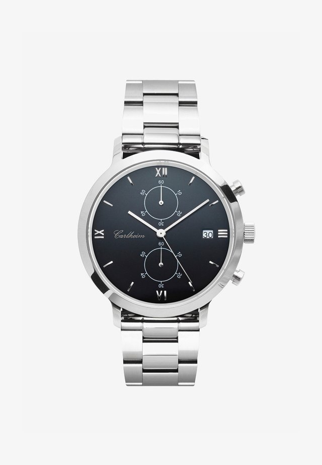 ADLER 42MM - Chronograph watch - silver-black