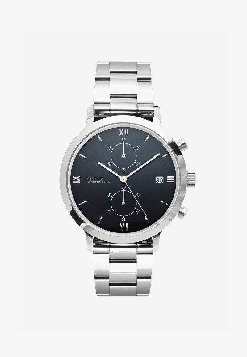 Carlheim - ADLER 42MM - Montre à aiguilles - silver-black