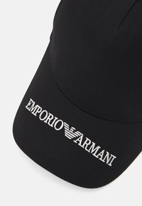 Emporio Armani - BASEBALL HAT UNISEX - Gorra - black - 5