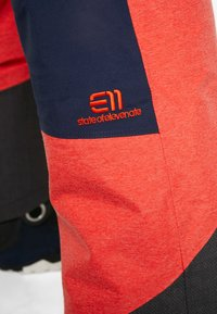 State of Elevenate - BACKSIDE PANTS - Snow pants - red glow - 6