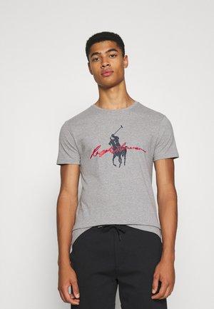 SHORT SLEEVE - T-shirt print - mottled grey