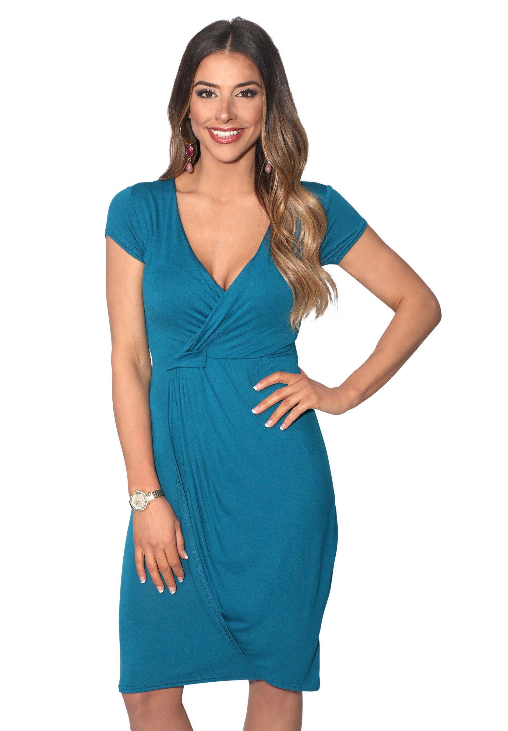 Women CAP SLEEVE - Jersey dress