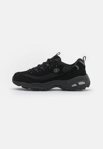 WIDE FIT D'LITES - Sneakers laag - black
