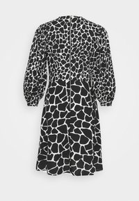Closet - PUFF SLEEVE DRESS - Day dress - black - 6