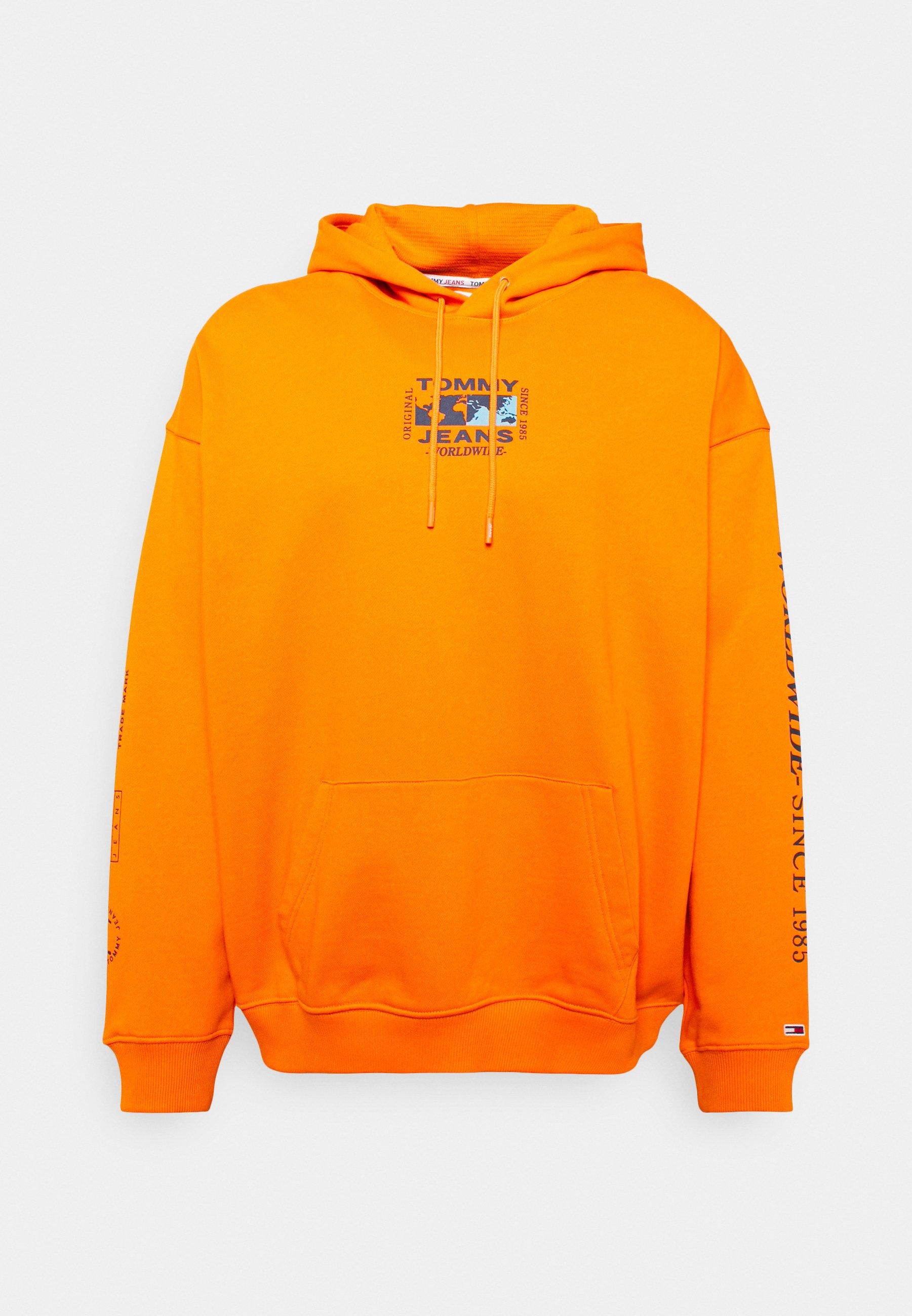 Men ABSTRACT GLOBE HOODIE - Sweatshirt