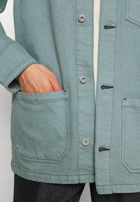 Edwin - FEDERAL JACKET UNISEX - Jakna iz džinsa - turquoise - 7