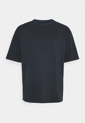 OVERSIZED TEE BIGUNI - Basic T-shirt - navy