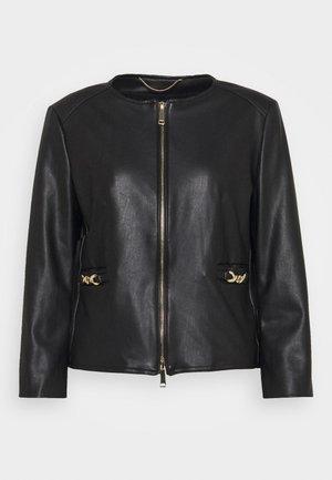OZIO - Faux leather jacket - nero