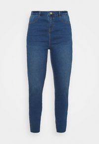 Missguided Plus - LAWLESS HIGHWAISTED SUPERSOFT - Jeans Skinny Fit - vintage blue