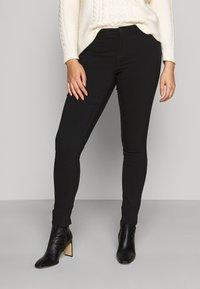 Vero Moda Curve - VMMASJA CURVE - SLIM TROUSER - Jeans Skinny - black - 0