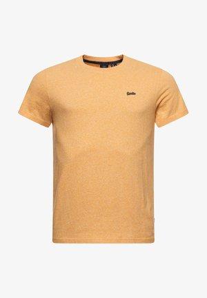 MICRO  - Basic T-shirt - sunshine yellow marl