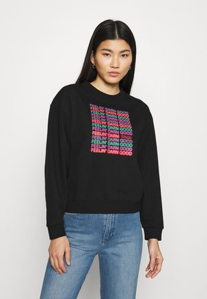 HIGH RETRO - Sweatshirt - black