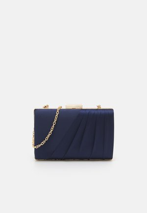 NADIA PLEATED PANEL - Clutch - navy