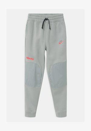 AIR - Pantaloni sportivi - light smoke grey/bright crimson