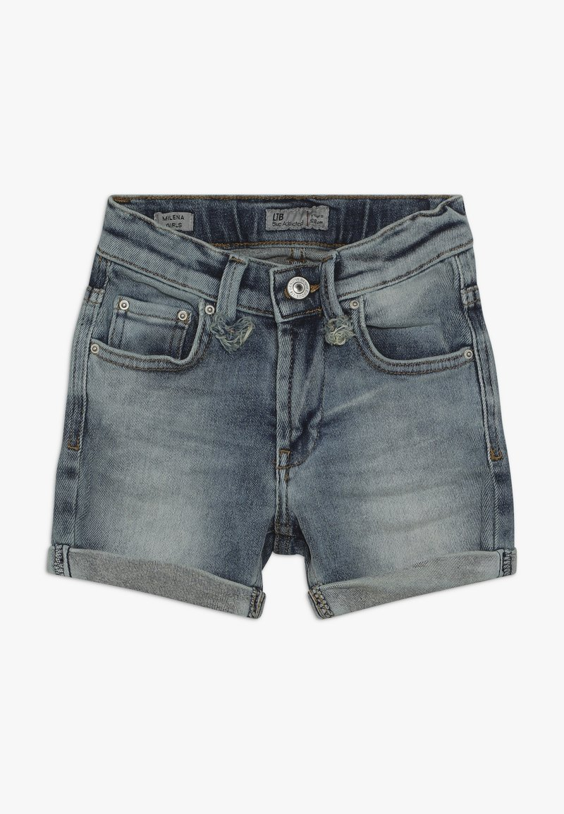 LTB - MILENA - Denim shorts - mist wash