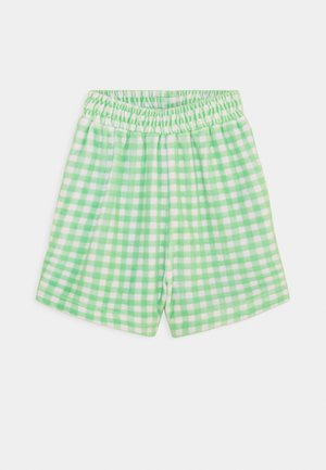 GINGHAM TOWELLING - Shorts - green