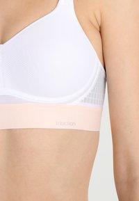 triaction by Triumph - HYBRID LITE - High support sports bra - white - 3