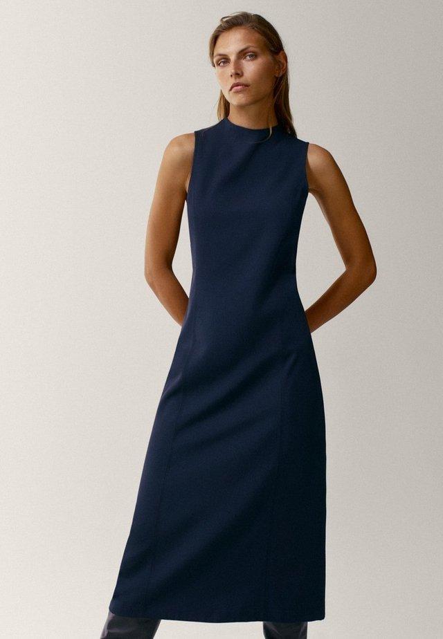 Shift dress - dark blue