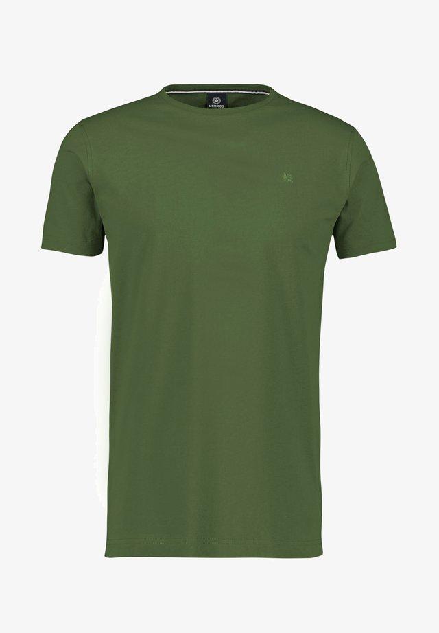 KLASSISCHES T-SHIRT - Basic T-shirt - reed green