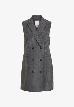 Waistcoat - medium grey melange