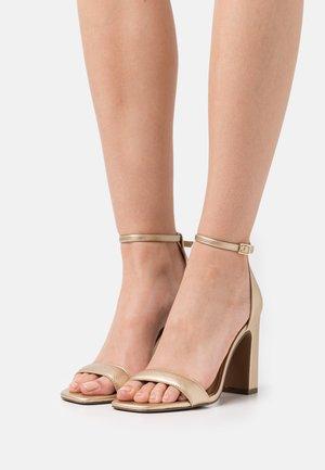 VEGAN KLOE - High heeled sandals - gold