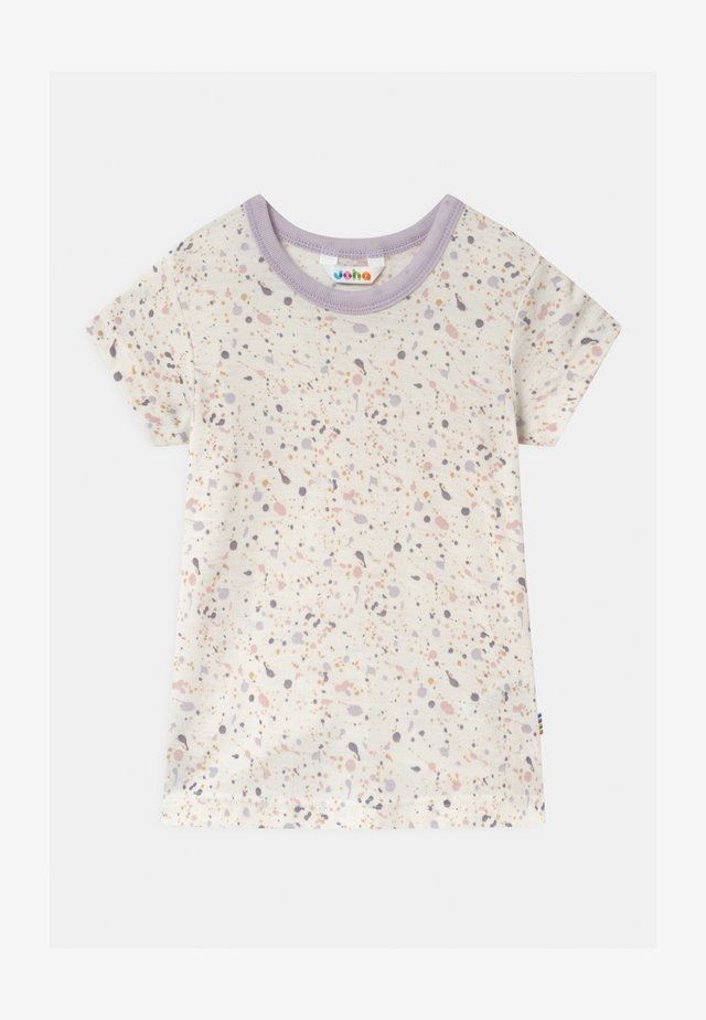 UNISEX - T-shirt con stampa - rose