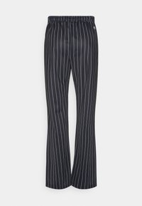 Fila - JAIMI PINSTRIPE TRACK PANTS - Trainingsbroek - black/bright white - 5