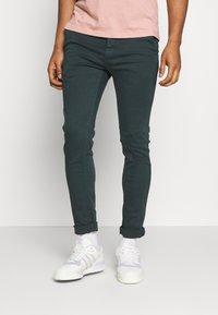 Replay - ZEUMAR HYPERFLEX  - Slim fit jeans - dark green - 0