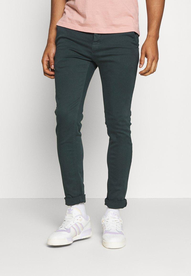 Replay - ZEUMAR HYPERFLEX  - Slim fit jeans - dark green