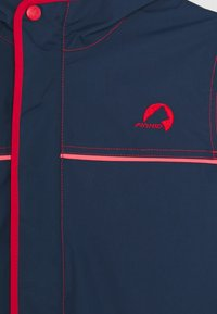 Finkid - TUULIS - Hardshell jacket - navy/red - 3