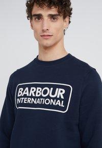 Barbour International - LARGE LOGO - Sweatshirt - navy - 3