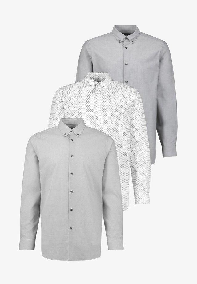 3 PACK - Košile - grey