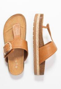 Call it Spring - SKYYE - Sandály s odděleným palcem - cognac - 3