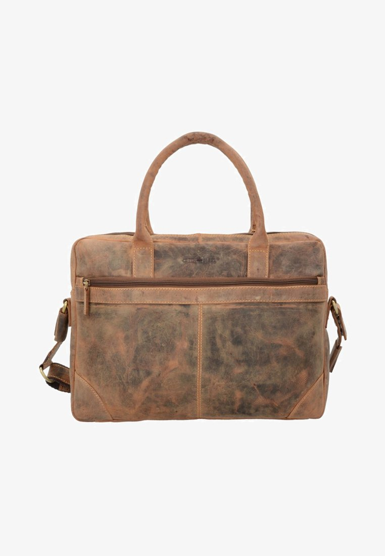 Greenburry - VINTAGE - Briefcase - nut brown