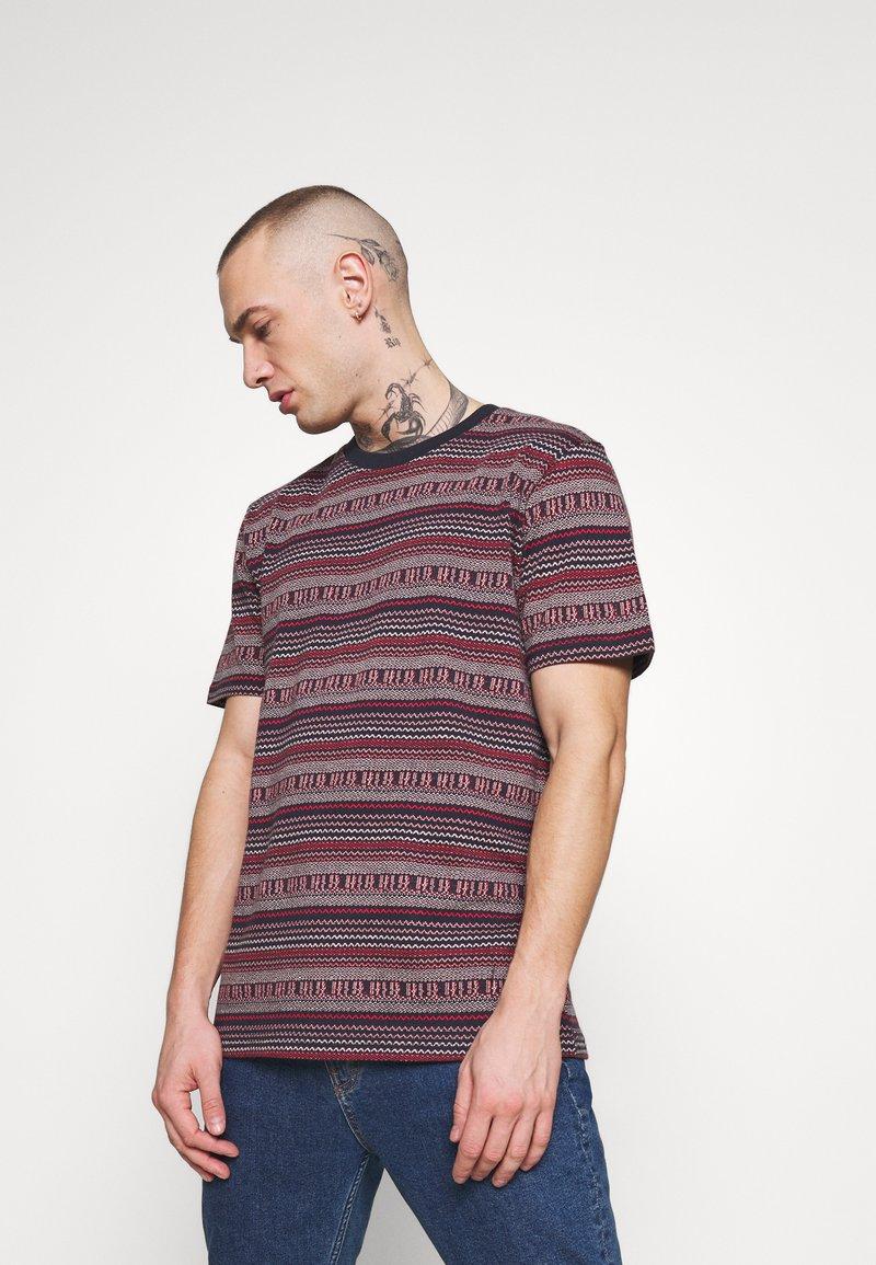 Anerkjendt - AKROD - T-shirt imprimé - sapphire