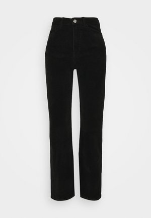 ROWE TROUSER - Trousers - black