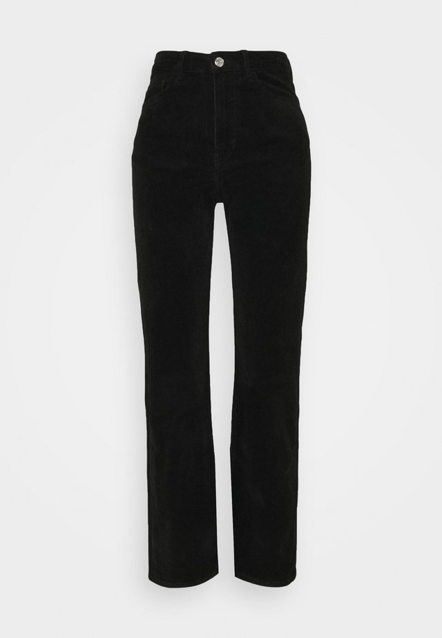 ROWE TROUSER - Bukser - black