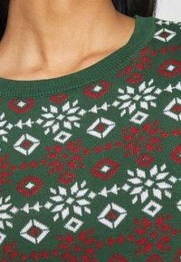 Monki - SOMIA - Jumper - green jaquard knit - 5