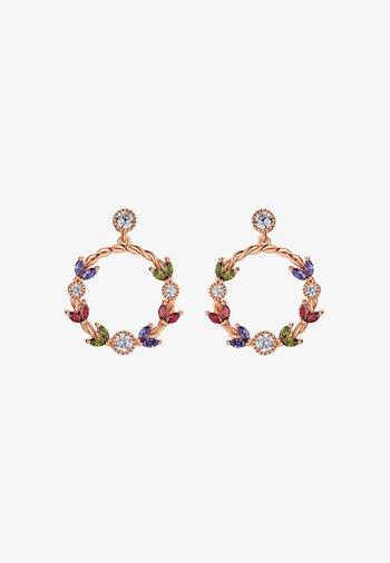 NALA  - Earrings - rose goldfarbend