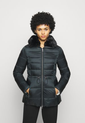 ANGUS QUILT - Short coat - black