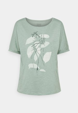 TEE PRINT - T-shirt con stampa - turquoise